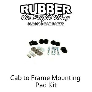 1961 1962 1963 1964 Ford F100 Truck Cab To Frame Mounting Kit