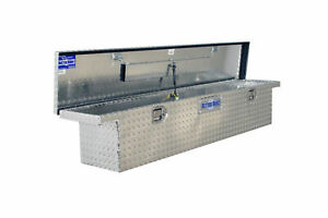 Truck Tool Box Low Profile Design Storage Organizer Diamond Plate Aluminum Style
