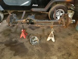 82 86 Jeep Cj7 Cj5 Front Axle Wide Track 3 54 Gear Ratio 97k Miles Free Shipping