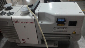 Edwards Rv5 A65301905 Dual Rotary Vane Vacuum Pump Tested Working