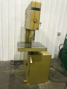 20 Powermatic Model 81 Vertical Bandsaw Yoder 67750