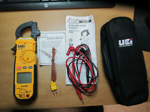 Newest Model Excellent Uei Dl479t Ac 600a True Rms Hvac r Clamp Meter