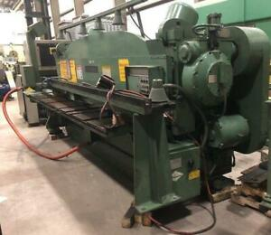 Cincinnati Model 2cc12 Mechanical Power Squaring Shear
