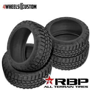 4 X New Rbp Repulsor M T 35x13 5r20 124q Off Road Mud Tires
