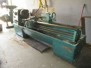 17 X 80 Clausing Colchester Gap Engine Lathe Yoder 70592