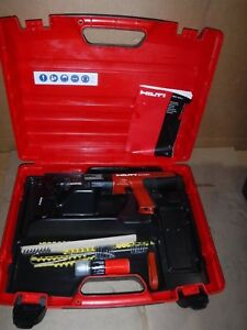 Hilti Dx351 Dx 351 Powder Actuated Nail Gun Kit