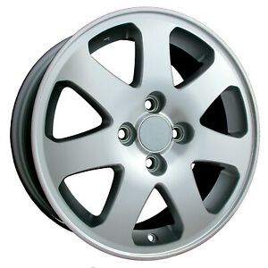 63793 New Compatible 15in Aluminum Wheel Fits Honda Civic 1999 2003 Machined