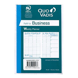 Quo Vadis Refill For Business 2019 Planner