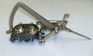 Universal Frame Mount Pedal Assembly W Manual Master Cylinder Chevy Street Rod