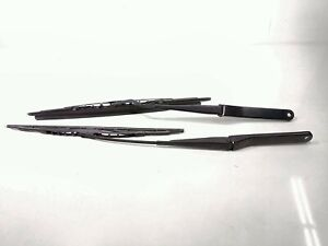 16 Bmw Z4 E89 Sdrive 28i Windshield Wiper Arm Blade Assembly Set Pair