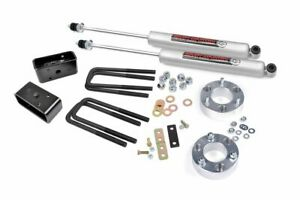 Rough Country 2 5 Lift Kit Fits 2000 2006 Toyota Tundra N3 Rear Shocks