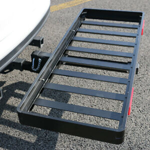 50 Foldable 2 Hitch Mount Receiver Folding Cargo Carrier 500lbs