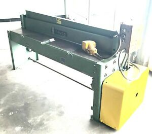Famco Model E12143 Mechanical Power Squaring Shear