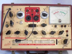 Nice Hickok 6005 Mutual Conductance Tube Tester For 7 9 Loctal