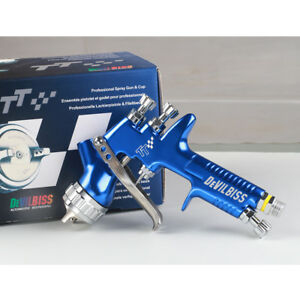 Devilbiss Brand Tt Spray Gun With Cups For All Auto Paint Topcoat And Touch Up