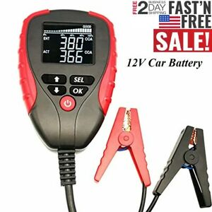Digital Analyzer Battery Tester Automotive Battery Meter Car Battery Voltage L