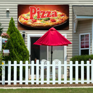 Vinyl Banner Sign Pizza 1 Style O Homemade Pizza Marketing Advertising Brown