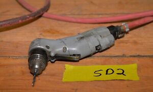 Vintage Sioux Pneumatic Air Craft Quality Drill 3000 Rpm Mechanic Machinist Sd2