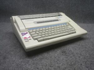 Smith Corona Model The Office 2000 Memory Electric Typewriter tested Working