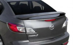 Rear Trunk Spoiler Fits 2008 Mazda 3 Painted 35j