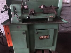 Hardinge Dv59 Lathe With Lot Of Tooling