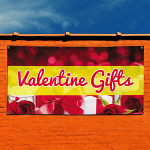 Vinyl Banner Sign Valentine Gifts Business Outdoor Marketing Advertising Red