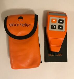 Elcometer 312fnf 0 40mil Paint Meter Coating Thickness Tester pre owned