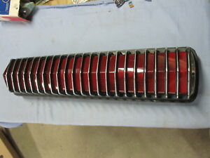 Nos 1967 1968 Mercury Cougar Complete Tail Light Ford C7wb 13440 a