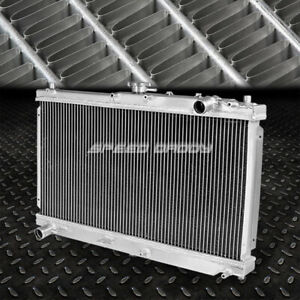 Dual Core Full Aluminum Racing 2 Row Cooling Radiator 98 05 Mazda Miata Mx5 Mx 5