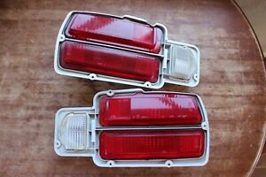 74 78 Datsun 260z 280z Rh Lh Driver Passenger Taillight Pair Set Oem Used