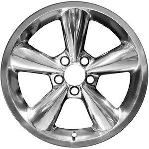 03648 New 18 Inch Compatible Wheel Fits Ford Mustang 2006 2009 Polished