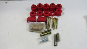 Prothane 1 113 Red 1 Lift Body Mount For Yj see Missing Pieces