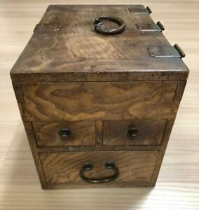 Retro Solid Wooden Chest Small Drawer