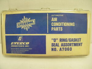 Everkool Everco A7060 O Ring Gasket Seal Assortment Air Conditioner Parts