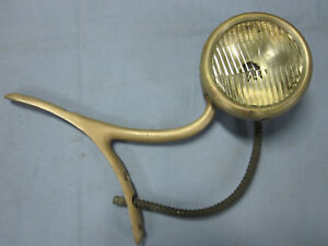 1920 S Cowl Light Early Automobile Antique Vintage Brass Ll1008 4 100
