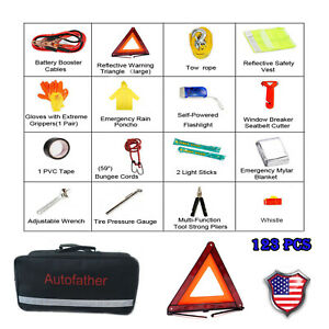 Emergency Kit Car Roadside Assistance Safety Complete Tools Kit High Quality
