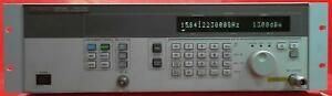 Agilent 83712b 1e1 Us37101389 Synthesized Cw Generator 10 Mhz To 20ghz
