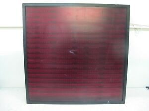 Hitech Programmable Led Display Sign 29 x28 5 viewable