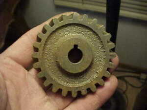 Rare Fairbanks Morse 1 1 2 2 Hp Za Spiral Gas Engine Magneto Drive Gear Dishpan