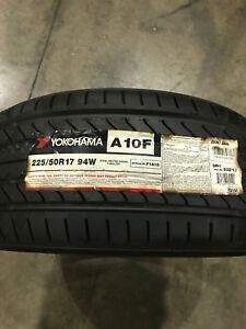 4 New 225 50 17 Yokohama Advan A10f Tires