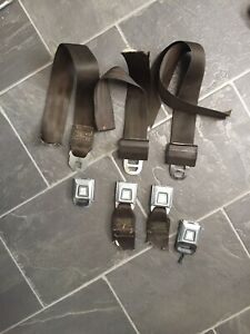 Vintage Allied Chemical Seat Belts