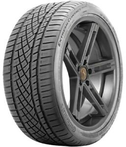 1 New Continental Extremecontact Dws06 P295 35r18 Tires 2953518 295 35 18