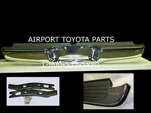 Genuine Oem Toyota Tacoma Rear Chrome Step Bumper 1995 To 2004