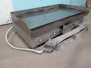 general Electric H d nsf Commercial 48 w 240v Dual Phase Electric Griddle