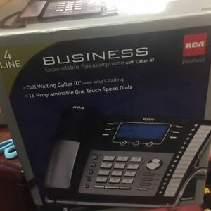 Rca 25424re 4 line Office Business Telephone