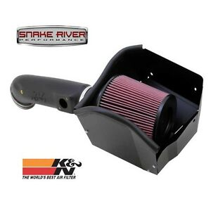 K N Cold Air Intake 11 16 Ford Powerstroke Diesel 6 7l F250 F350 Oiled Filter