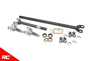 Rough Country Dana 30 Chromoly Front Axle Kit fits 1987 2006 Jeep Wrangler Tj