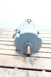 General Electric Ge 5cd286e155 Kinamatic Dc Motor 7 5hp 1150rpm 120v dc
