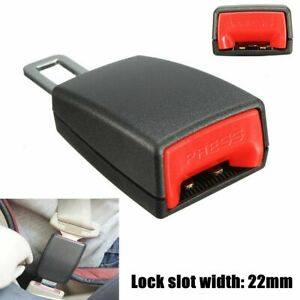 Car Safety Seat Belt Buckle Extension Extender Clip Alarm Stopper Universal Usa