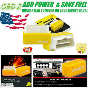 Obd2 Super Performance Chip For Chevy Silverado 2500 Save Gas 4 8l 5 3l 6 0 V8
